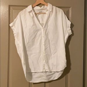 💫CLEARANCE Madewell Central Shirt in Pure White